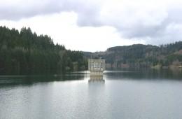 Sichtprüfung Entnahmeturm – Trinkwassertalsperre